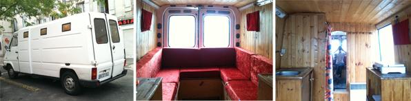 Furgoni Camperizzati Con Bagno ~ Idee Creative di Interni e Mobili
