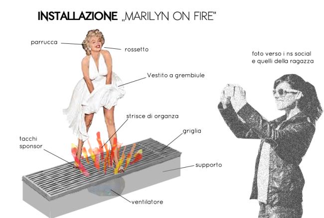 Marilyn-on-fire